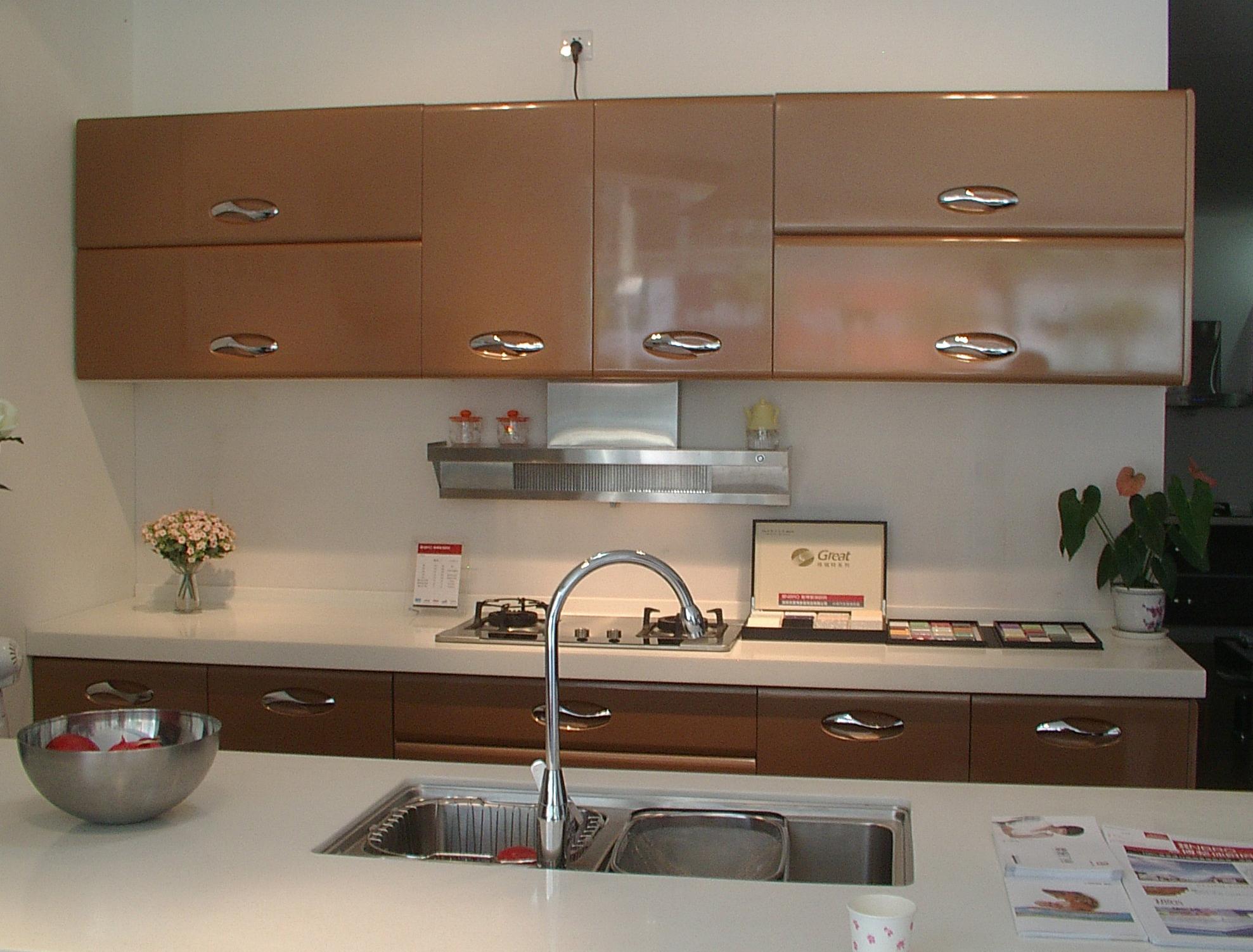 厨房吊柜结构图